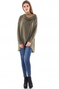 Cardigan Roh Boutique versatil - BR1114 khaki