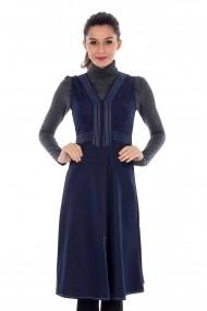 Rochie Roh Boutique DR2061 bleumarin