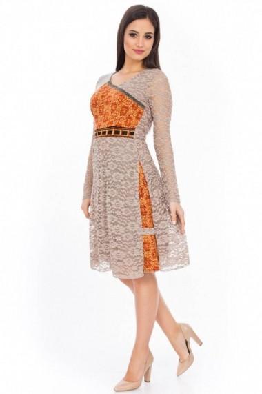 Rochie Roh Boutique DR1733-B bej