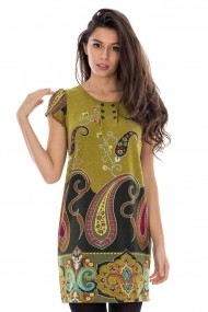 Tunica Roh Boutique multicolora - DR2175 verde