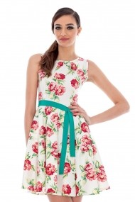 Rochie Roh Boutique florala - DR2355 multicolor