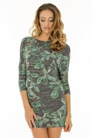Rochie Roh Boutique mini, ''Army'' - DR2001 multicolora