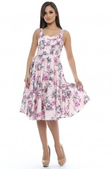 Rochie Roh Boutique roz - DR2314 roz
