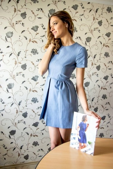 Rochie Roh Boutique office - DR1965 bleu