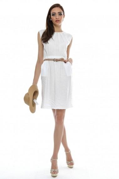 on sale 7829d d9d62 Rochie Roh Boutique alba, de vara - DR2498 alb - FashionUP!