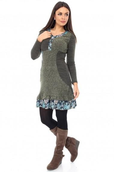 Rochie scurta Roh Boutique tricotata - DR2600 Print