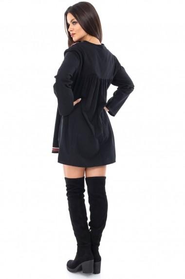Rochie scurta Roh Boutique DR2690 neagra