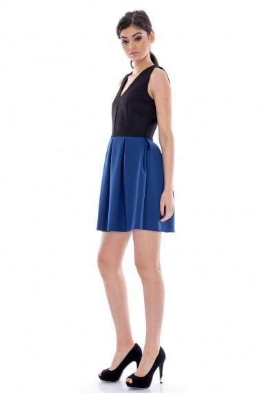 Rochie scurta Roh Boutique CLD068 neagra