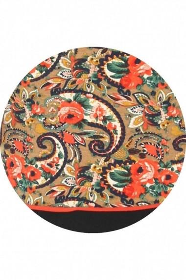 Rochie de zi Roh Boutique casual, multicoloraa - DR1793 multicolora