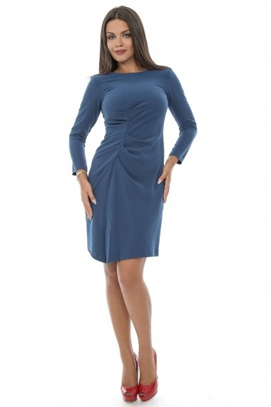 Rochie Roh Boutique office - DR2570 albastra