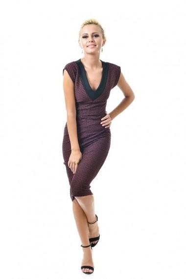 Rochie Roh Boutique D1009 Grena