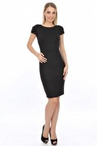 Rochie Roh Boutique neagra, office - DR1445 negru