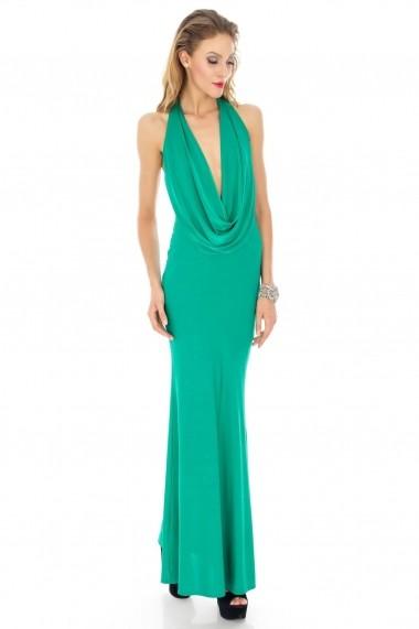 Rochie lunga Roh Boutique de ocazie - DR1989 verde