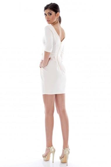 Rochie Roh Boutique de ocazie CLD010 crem