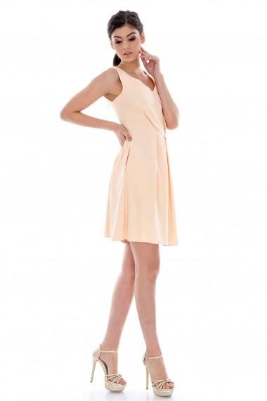 Rochie Roh Boutique de ocazie CLD007 roz piersica