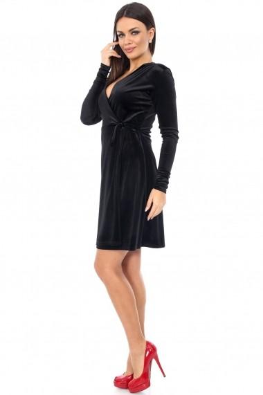 Rochie de seara Roh Boutique petrecuta - DR2679 neagra
