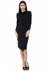 Rochie de seara Roh Boutique neagra eleganta - DR2714 negru