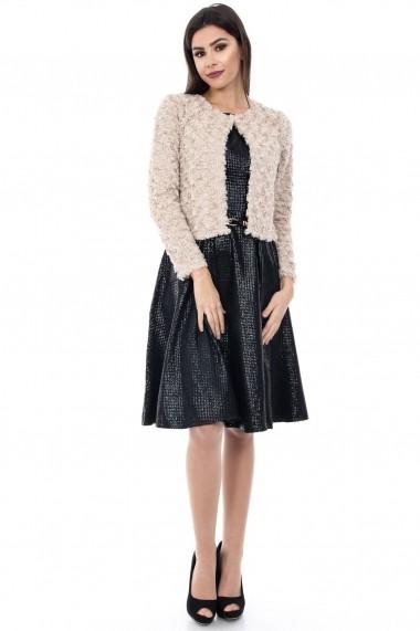 Rochie scurta Roh Boutique DR2708 neagra