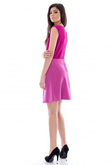 Rochie scurta Roh Boutique CLD087 Fucsia