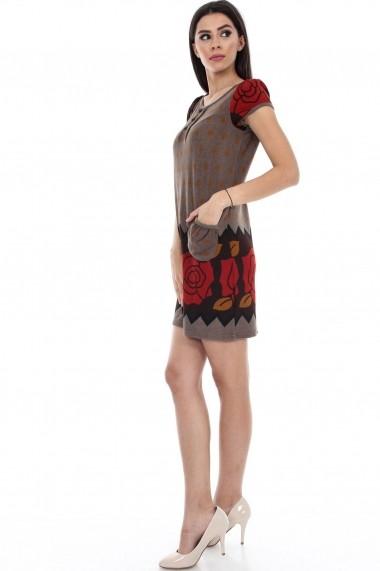 Rochie scurta Roh Boutique DR2801 Floral