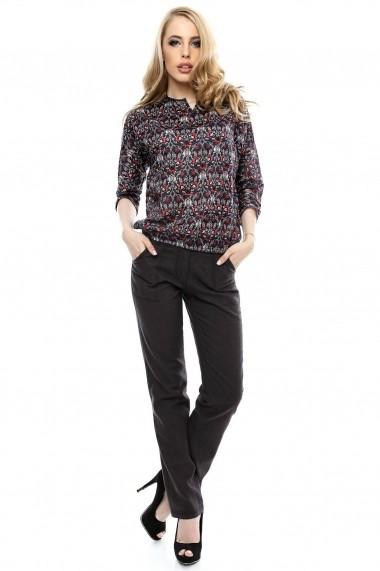 Pantalon Roh Boutique casual din in - TR133 bleumarin