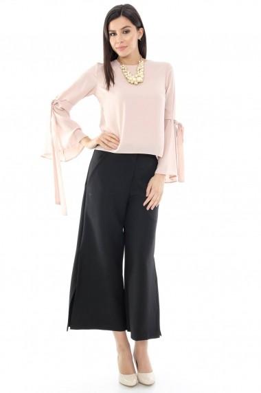 Pantaloni largi Roh Boutique TR171 Negri