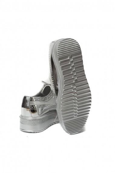 Pantofi Rammi argintii comozi
