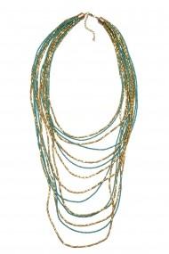 Colier pentru femei BORRO design turcoaz BR1221TQ