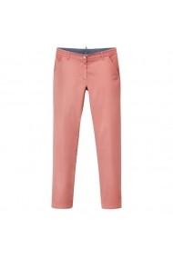 Pantaloni drepti VILA 4522281 Roz - els
