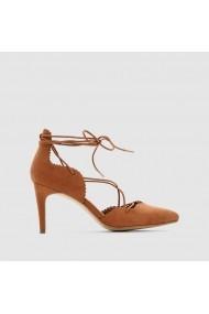 Pantofi cu toc R edition 7719094 camel