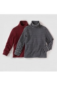 Set 2 pulovere baieti R edition LRD-7535619 grena - els