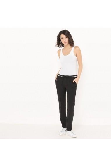 Pantaloni R edition 6052770 Negru - els