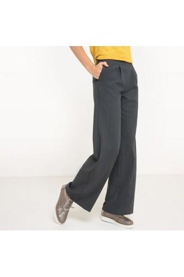Pantaloni largi R essentiel 5878314 Gri - els