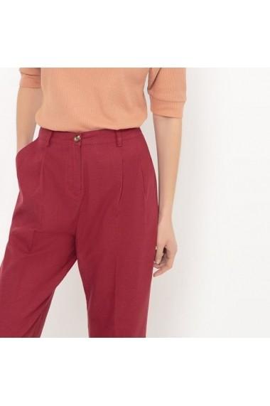 Pantaloni R essentiel 5858313 rosu - els
