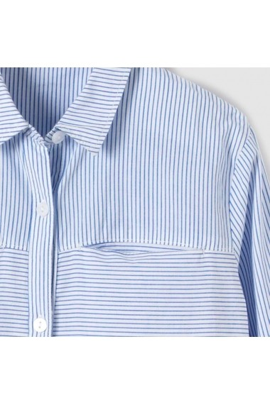 Camasa cu maneca lunga fete R essentiel LRD-7355505 albastru - els