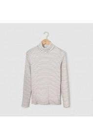 Bluza cu maneca lunga fete R essentiel LRD-7354673 ecru - els