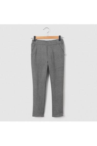Pantaloni fete R essentiel LRD-7408684 gri - els