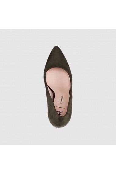 Pantofi cu toc R essentiel 5077966 kaki - els