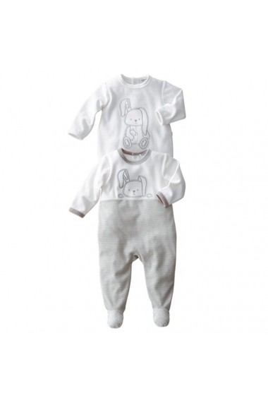 Pijama R essentiel 7133600 alb