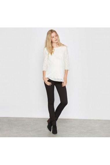 Pantaloni drepti R essentiel 6604358 negru