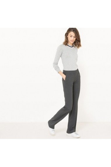 Pantaloni R essentiel 5882150 Gri - els