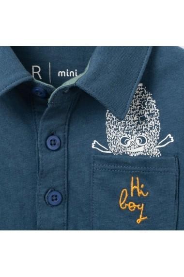 Bluza polo baieti R MINI LRD-7262850 bleumarin - els