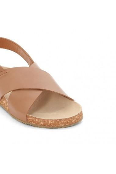 Sandale ABCD`R 4512707 Maro deschis - els