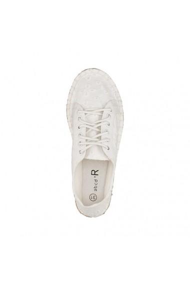 Pantofi sport ABCD`R 5992320 Alb - els