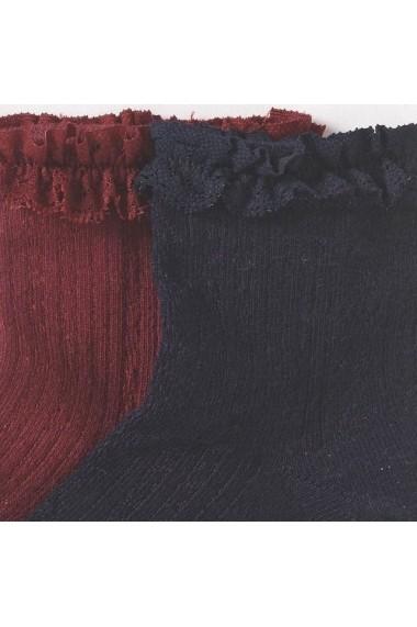 Set 2 perechi de sosete fete ABCD`R LRD-7554818 bleumarin - els