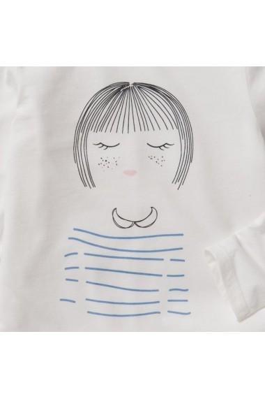 Pijama fete ABCD`R LRD-7229950 ecru
