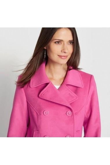 Palton scurt ANNE WEYBURN 6096301 fuchsia - els