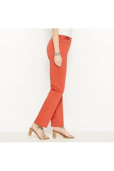 Pantaloni ANNE WEYBURN 4596935 Maro-caramiziu - els