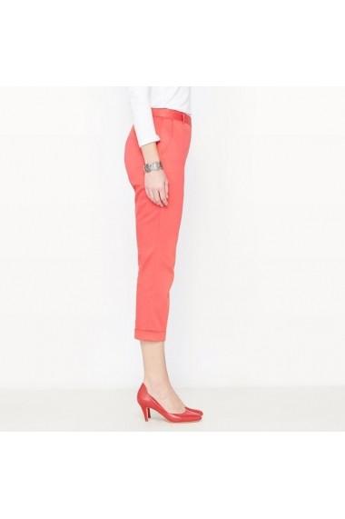 Pantaloni 3/4 ANNE WEYBURN 4585062 Rosu - els