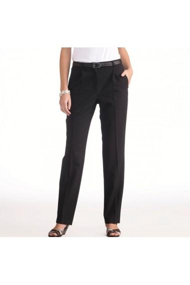 Pantaloni drepti ANNE WEYBURN 6958286 negru - els